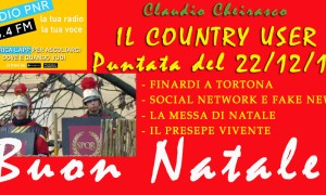 Ottavo Country User del 22 dicembre 2017