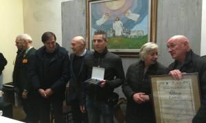Castellania – Il premio Fausto Balduzzi 2018 a Andrea Corradi