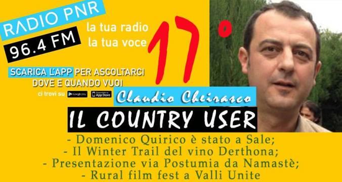 Claudio Cheirasco Il country user puntata numero 17