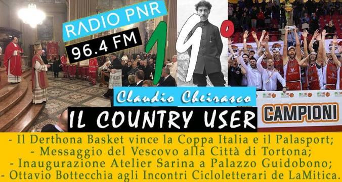 Diciannovesima puntata del Country User di Radio PNR Tortona
