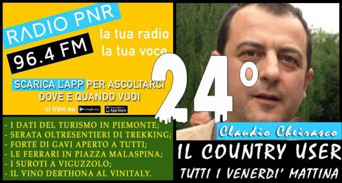 Claudio Cheirasco il country user puntata 24