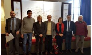 Il comitato Campionissimi100 per il Giro d'Italia 2019 a Novi Ligure