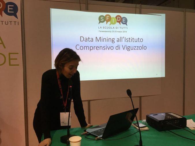 Silvia Figini presenta a milano i dati della survey di ic_viguzzolo