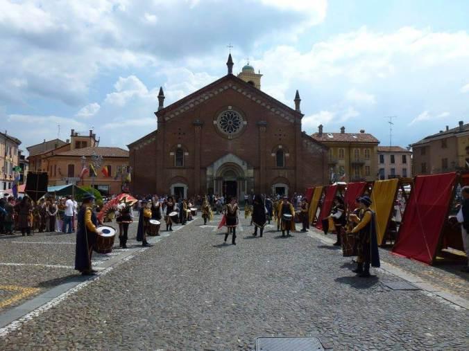 Programma della festa mediaevale di Castelnuovo Scrivia maggio 2018