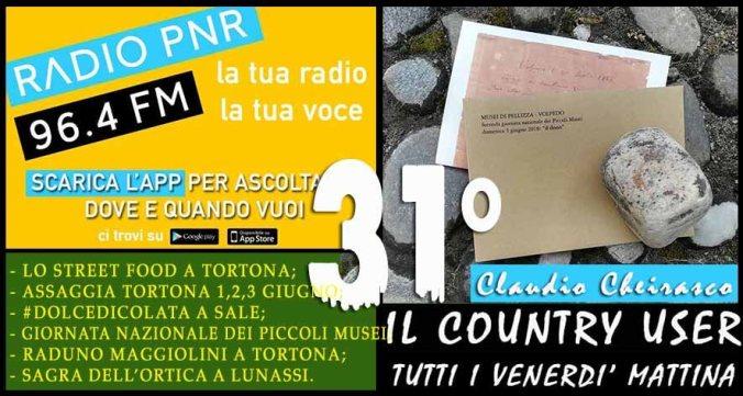 Trentunesima puntata de Il Country User di Radio Pnr