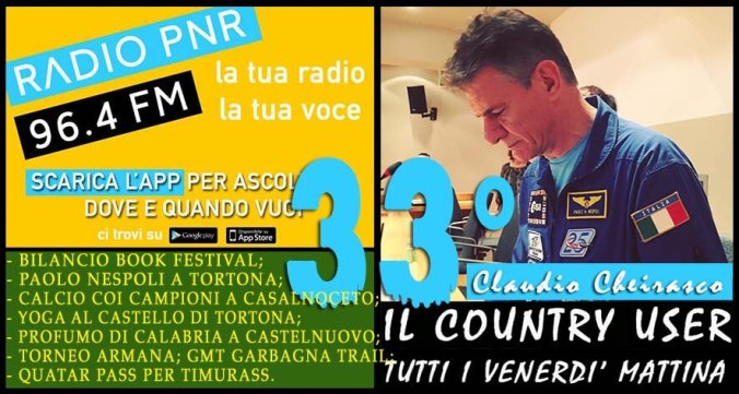 Claudio Cheirasco il Country User puntata 33