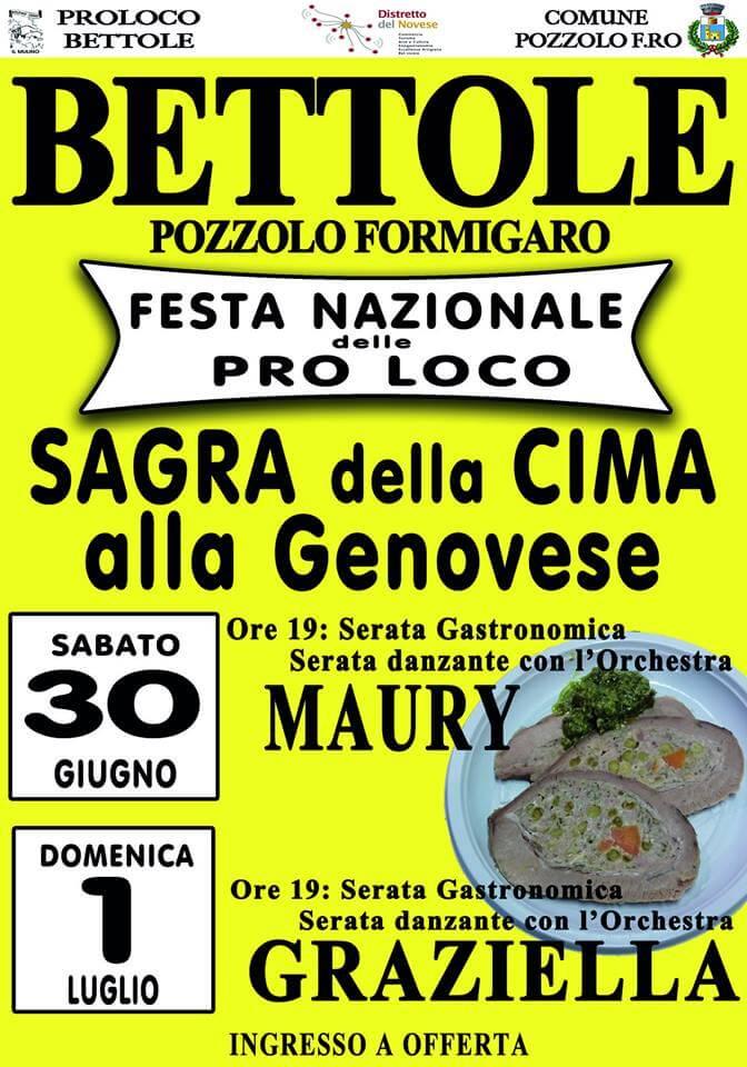 Cima alla genovese e agnolotti a Pozzolo Formigaro