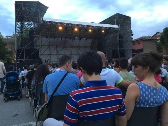 Arena Derthona in piazza Allende a Tortona