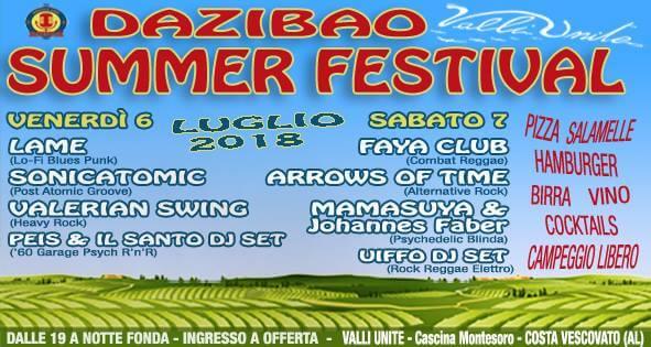 Costa Vescovato venerdì e sabato 6 e 7 luglio 2018
