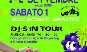 Festa dell'uva 2018 a Cerreto Grue