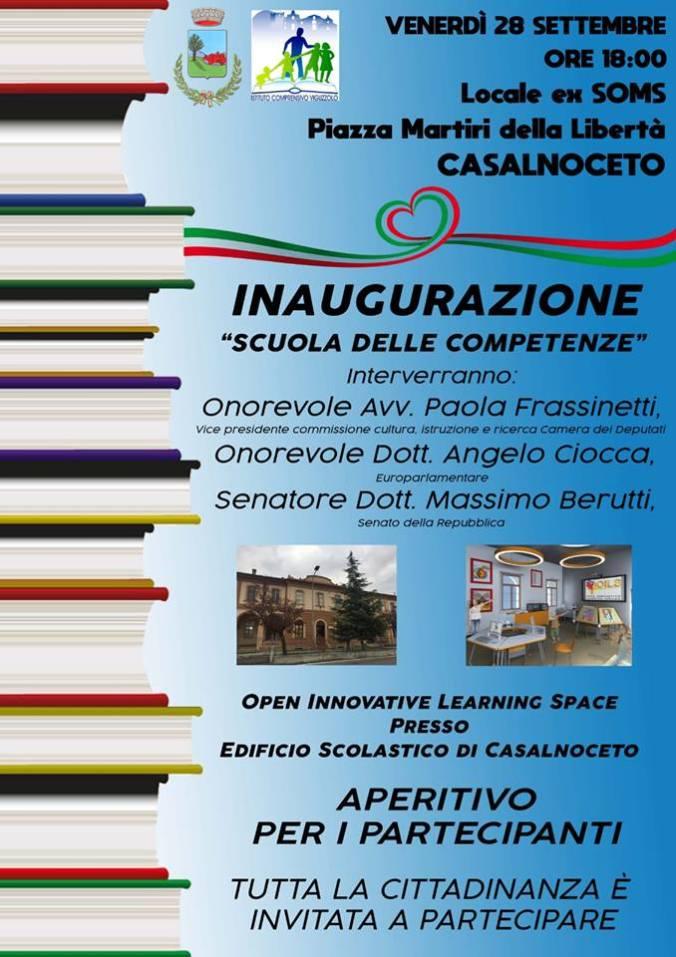 La scuola delle competenze a Casalnoceto