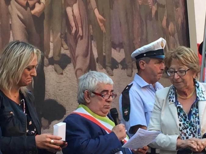 La cerimonia di chiusura di #Pellizza150 a Volpedo