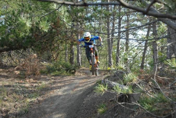 il campo di allenamento della squadra sportiva enjoy the trail