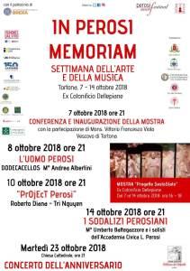 Perosi 2018 - locandina eventi autunnali