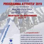 Il 20 novembre saranno presentate dal Cai Tortona le attività in cantiere per il 2019