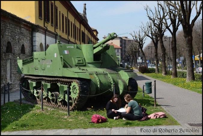 Una suggestiva foto scattata da Roberto Bettolini al Museo Storico Militare di Voghera