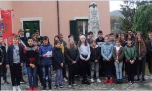 L'omaggio delle scuole ai 17 gremiaschesi caduti in guerra