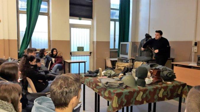 Marcello Vaccari all'Istituto Marconi Carbone di Tortona