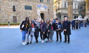 Una delegazione dell'Istituto Marconi a Firenze per il progetto di alternanza legato ai beni culturali