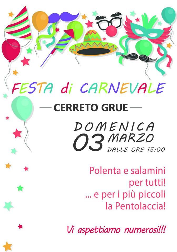 Il carnevale 2019 a Cerreto Grue