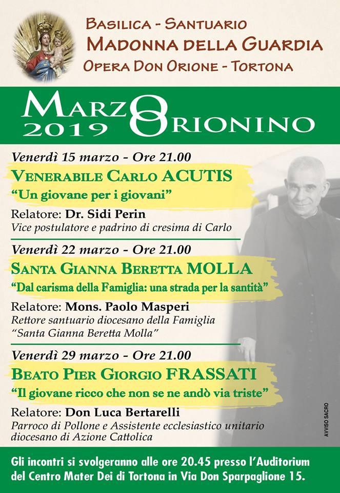 Marzo Orionino 2019 - Volantino