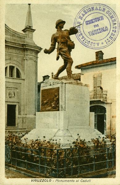 Il Monumento ai caduti fuso durante la seconda guerra mondiale