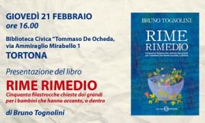 "Girolibrando 2019 – Bruno Tognolini presenta ""Rime Rimedio"""