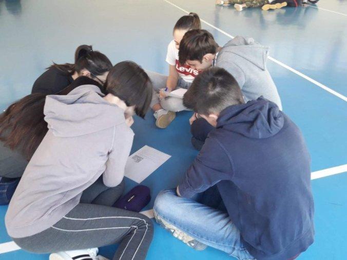 I Ragazzi del Liceo Peano studiano giocando
