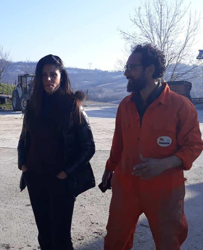 Daniela Feroli e Federico quaranta da Valli Unite