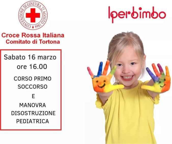 Corso della croce rossa italiana da iper bimbo