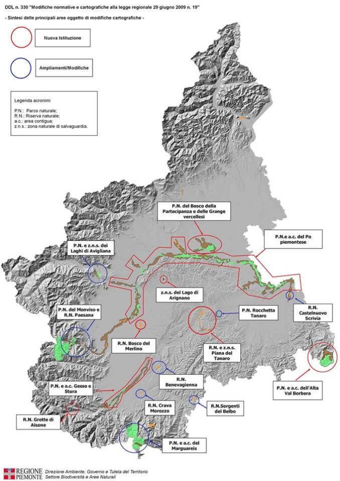 Le modifiche del ddl 330 alla legge regionale 29 giugno 2009, n. 19