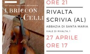 I Bricconcelli in concerto all'Abbazia di Rivalta Scrivia