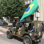 Commemorazione dell'entrata delle truppe brasiliane a Tortona