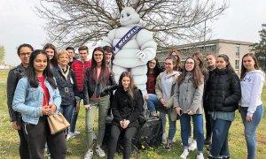 Gli studenti del Marconi in visita allo stabilimento Michelin di Alessandria