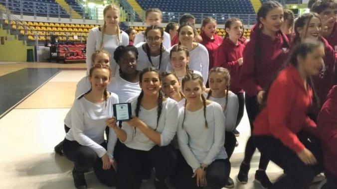 terzo posto per le ragazze della danza dell'Istituto Marconi