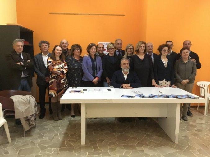 Comunali 2019 Tortona squadra PD