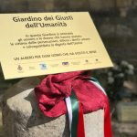Inaugurato a Gremiasco il Giardino dei Giusti