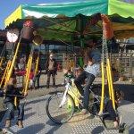 Valli Unite – Per il 25 aprile arriva la giostra a pedali