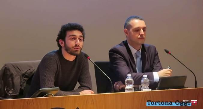 La presentazione della mostra su Cabruna alla Sala della Fondazione