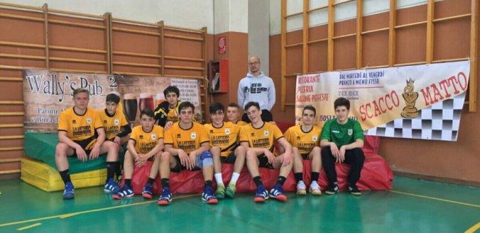 Leoni Pallamano Tortona formazione under 15
