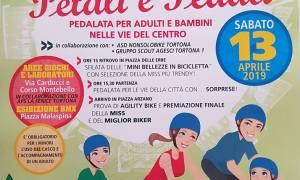 Petali e pedali, pedalata per adulti e bambini nelle vie del centro di Tortona
