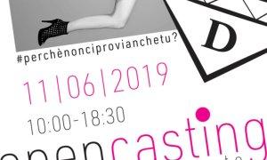 Domani ad Alessandria open casting per lavorare nel mondo dello spettacolo