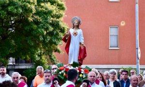 Celebrata la festa del Sacro Cuore
