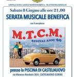 Castelnuovo Scrivia – Serata benefica con musica e cena a bordo piscina