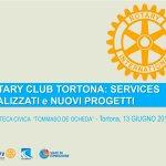 Il Rotary Club di Tortona si presenta