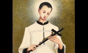 """Torna restaurato il """"San Luigi Gonzaga"""" dipinto da Pellizza a fine Ottocento"""