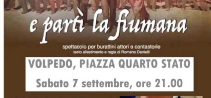 Locandina Spettacolo di Burattini dedicato a Pellizza da Volpedo