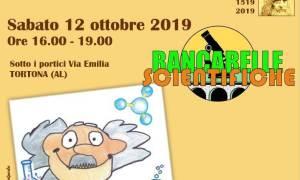 Tortona – Sabato in via Emilia le Bancarelle Scientifiche