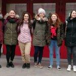 La squadra femminile del Liceo Peano alle gare di matematica