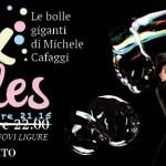 Novi Ligure – Spettacolo di bolle di sapone con Michele Cafaggi